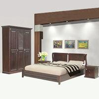 Bộ giường tủ Hòa Phát 10