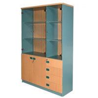 Tủ gỗ tài liệu Hòa Phát SV1960-3G4D