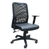 Ghế lưng trung chân nhựa Hòa Phát GL206
