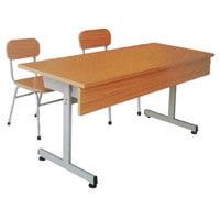Bàn ghế tiểu học Hòa Phát BHS110-III+GHS110-III