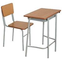 Bàn ghế tiểu học Hòa Phát BHS107-III+GHS107-III