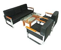 Sofa văn phòng SF80 Da thật