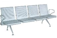 GPC03-4  ghế phòng chờ hung thép sơn tĩnh điện Hòa Phát