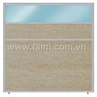 Vách ngăn T3 Fami Vinyl - Vinyl - Kính VVK32