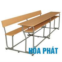 Bộ bàn liền ghế có tựa Hòa Phát BSV2400