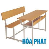 Bộ bàn liền ghế có tựa Hòa Phát BSV107T