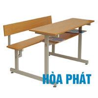 Bộ bàn liền ghế có tựa Hòa Phát BSV105T