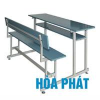 Bộ bàn liền ghế có tựa Hòa Phát BSV102T