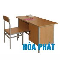 Bộ bàn ghế giáo viên Hòa Phát BGV103
